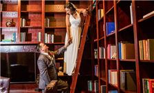 Wedding Shot in Library