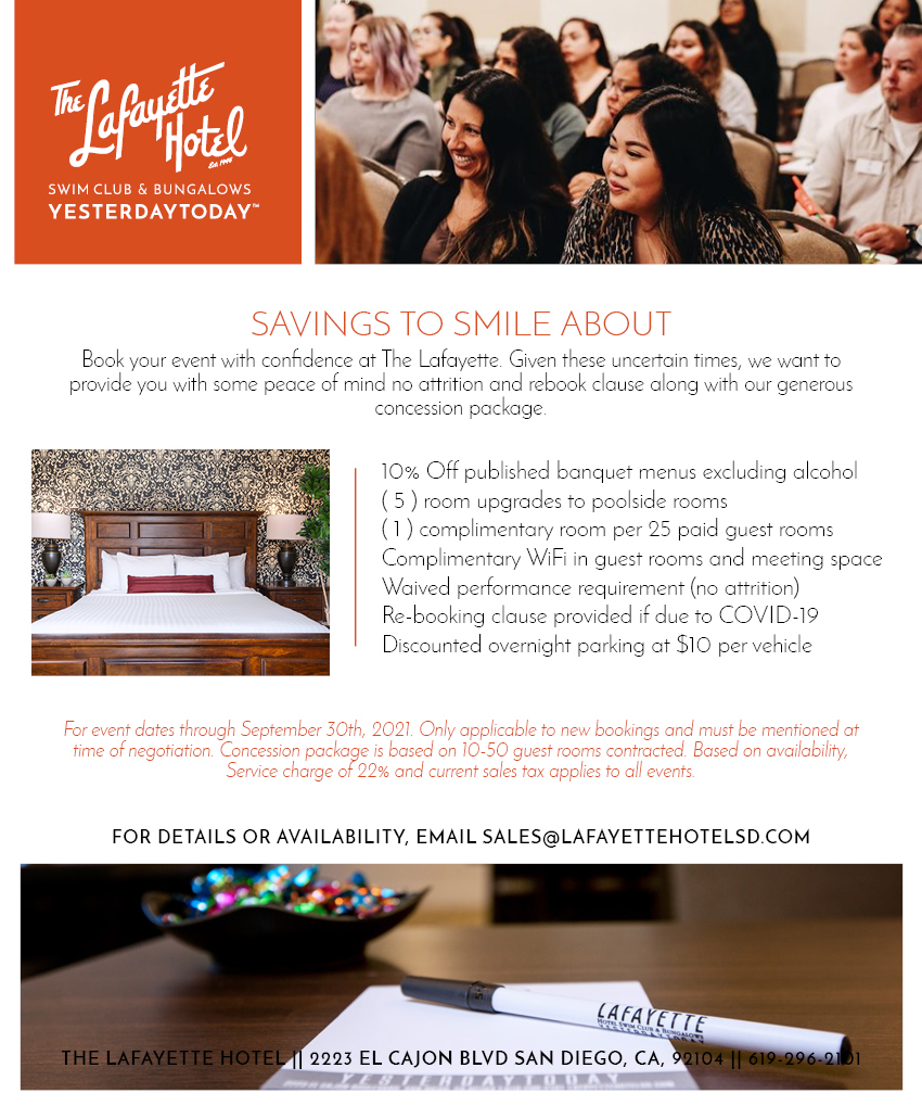 March Meeting Madness Event Offer