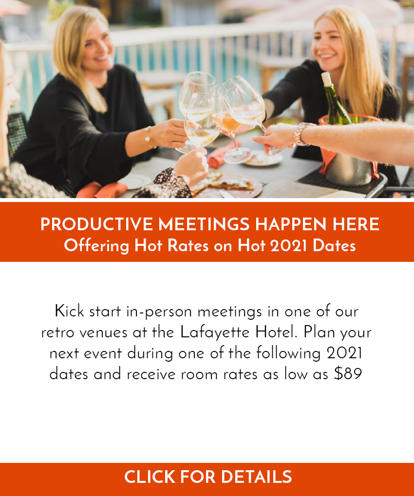Summer Hot Rates Meeting Event Offer
